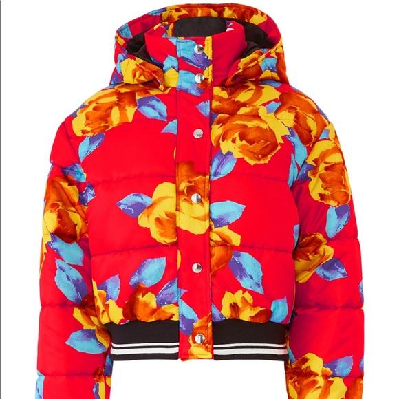 mgsm Jackets & Blazers - 🎊🎊MGSM floral puffer jacket🎉🎉